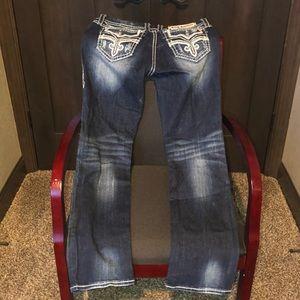 Rock Revival Buckle Jeans